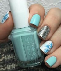 1000+ ideas about Silver Nail Art on Pinterest | Gel nail ...