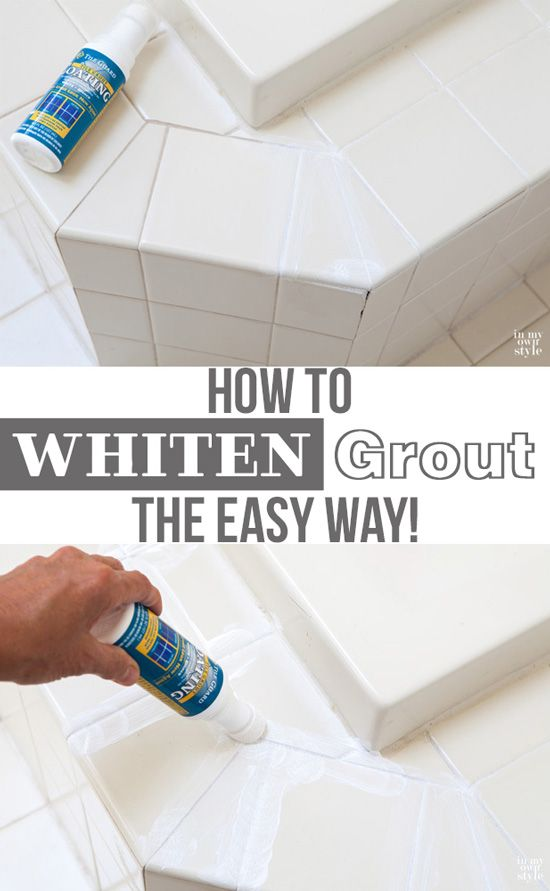 10 Best Ideas About Clean Grout On Pinterest   Grout Cleaner