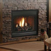 Kingsman HB3624 Zero-Clearance Direct Vent Gas Fireplace ...