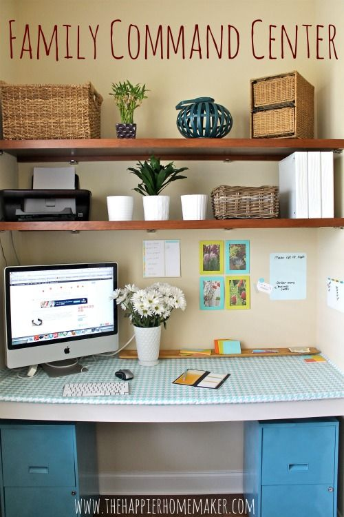 Ikea Spain Love This Command Center/home Office | Organized Home