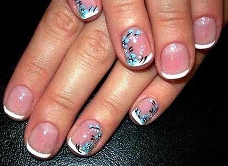 Gel Nail Designs For Short Nails Nails New Ideas