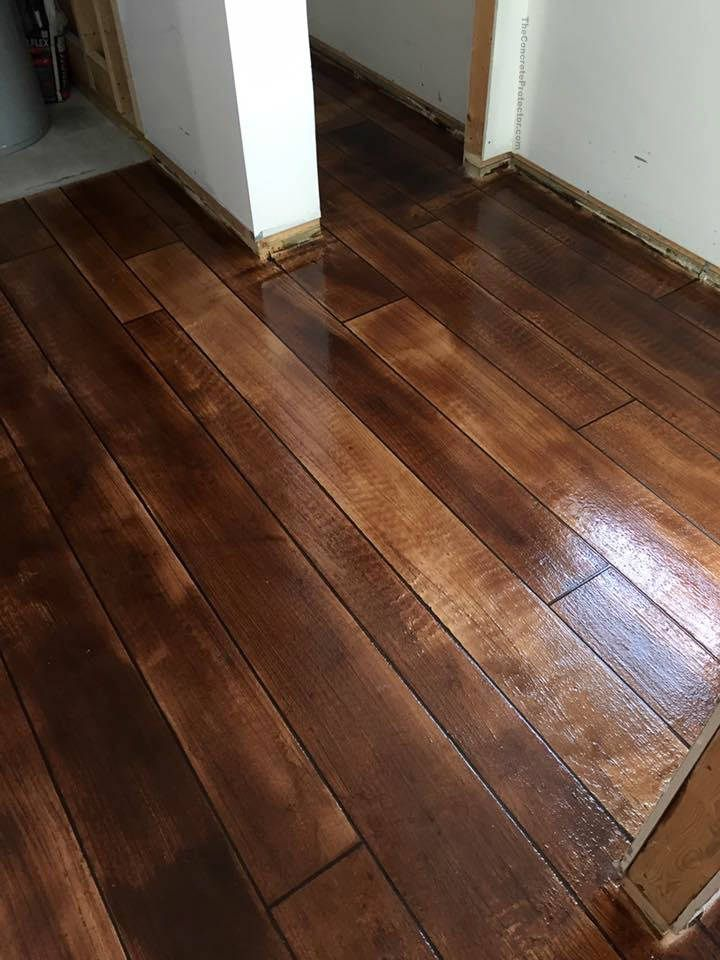 Stained Concrete Bathroom Floor 25+ Best Ideas About Concrete Wood Floor On Pinterest