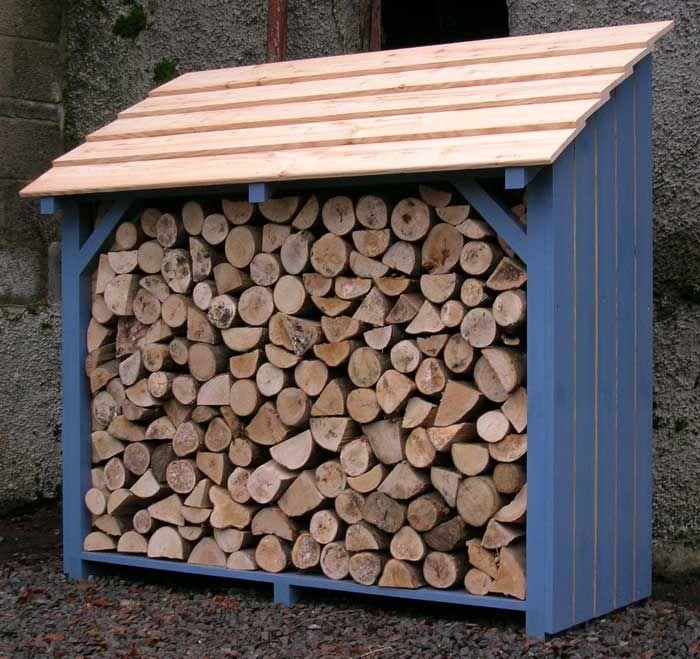 Woodshed Log Storage Outside Space Pinterest Log