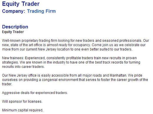 equity trader cv sample cv sample equity trader sample resume - stock broker resume