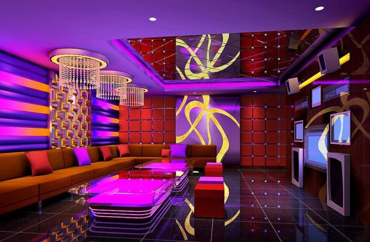Night King Hd Wallpaper Ktv Room 3d Rendering K Tv Pinterest Karaoke 3d