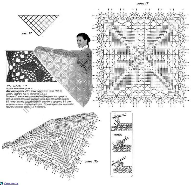 gorgeous fantasy crochet stitch and diagram