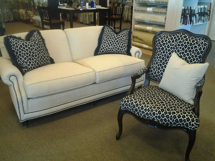 Sofa Chesterfield York Chair And Sofa Decorator Pillows Covered In Simba Navy