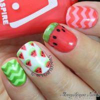 25+ best ideas about Watermelon nail art on Pinterest ...