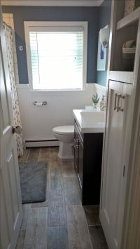 25+ best ideas about Wainscoting in bathroom on Pinterest
