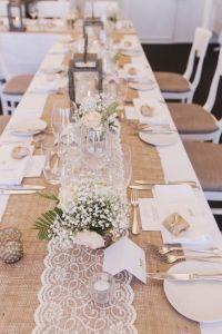 Best 25+ Burlap table settings ideas on Pinterest