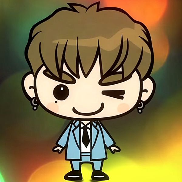 Cute Bts Drawings Wallpaper Who Is This Cartoon Got7 Version Quiz By Tricia 0143