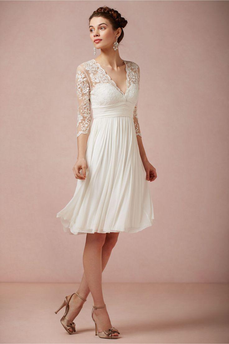 older bride bride wedding dress Wedding Dresses for Second Marriages Over 50 Omari Dress in Bride Wedding Dresses at BHLDN