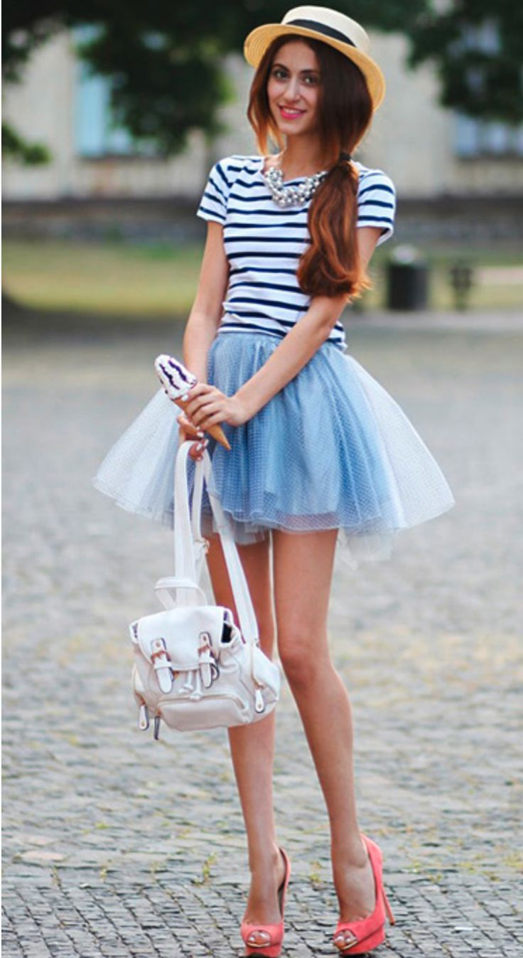 Cute Dashing Girl Wallpaper Adorable Tulle Skirt Mini Backpack Purse This Look Is