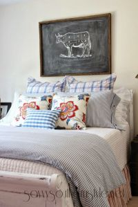 Farmhouse Style Guest Room Spring 2014 | Biz and the ...