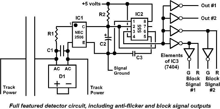 circuit diagram for model railway signal