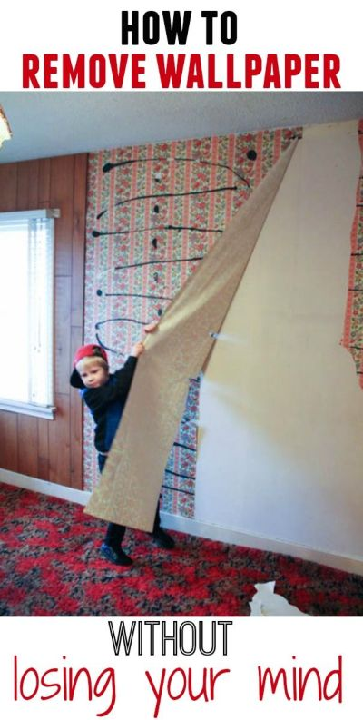 How to Remove Wallpaper Without {Completely} Losing Your Mind | Best friends, Remove wallpaper ...