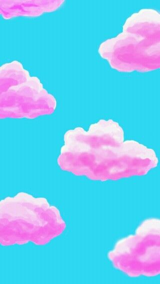 Cute Wallpapers Cocoppa Style Pink Clouds And Cute Wallpapers On Pinterest