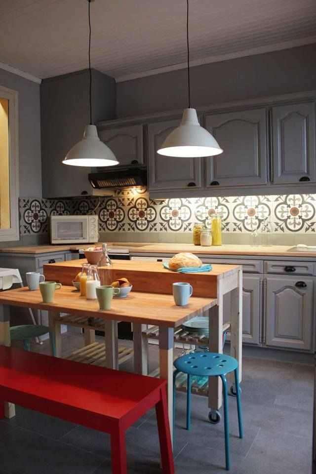 Best Kitchen Islands Source : Https://www.facebook.com/sophie.ferjani.98 Deco