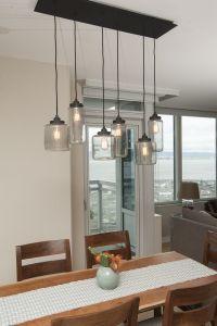 Mason Jar Light Fixture/ Jill Cordner Interior Design