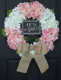 Best 20+ Baby Girl Wreaths ideas on Pinterest | Baby ...