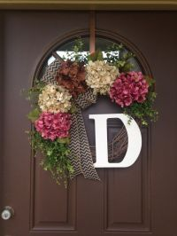 Best 25+ Hydrangea wreath ideas on Pinterest | Door ...