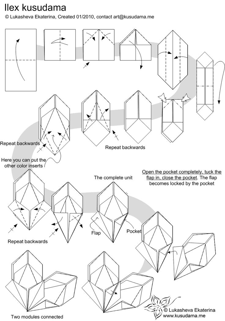 you can the diagram here origami koi diagram