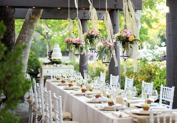 Girlanden Deko Amazing Garden Wedding Reception Decor | Garden Wedding