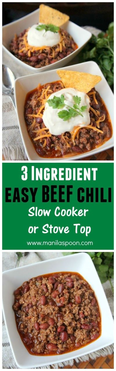 17 Best ideas about 3 Ingredient Dinners on Pinterest | 3 ingredient meals, Quick dinner recipes ...