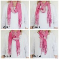 1000+ images about Different ways to tie scarf's on ...