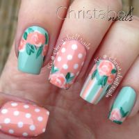 39 best images about Nail Art: Flowers on Pinterest ...