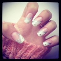 194 best images about Bridal Wedding Nail Art on Pinterest
