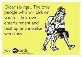 Image result for older sibling