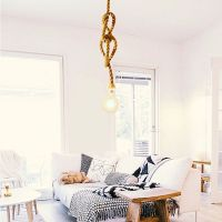 1000+ ideas about Rope Lamp on Pinterest   Ropes, Rope ...