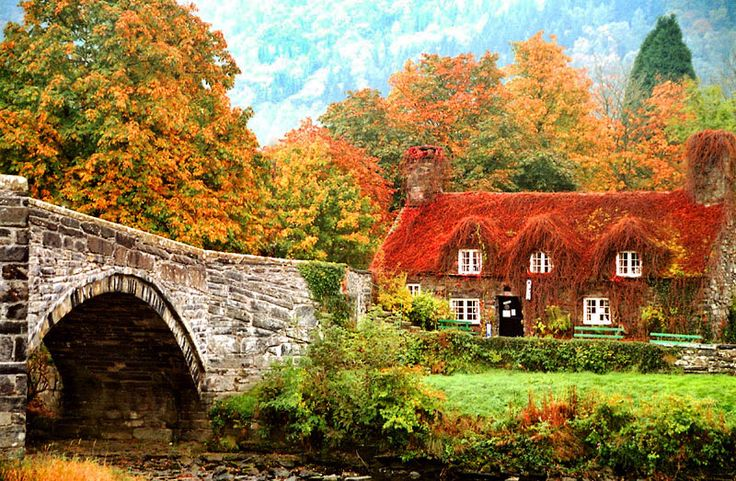 Fall Leaves Desktop Wallpaper Free Quot Autumn In Llanrwst Wales Quot By Magda Indigo Via 500px