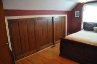 Sliding closet doors for attic kneewall | Bedrooms ...