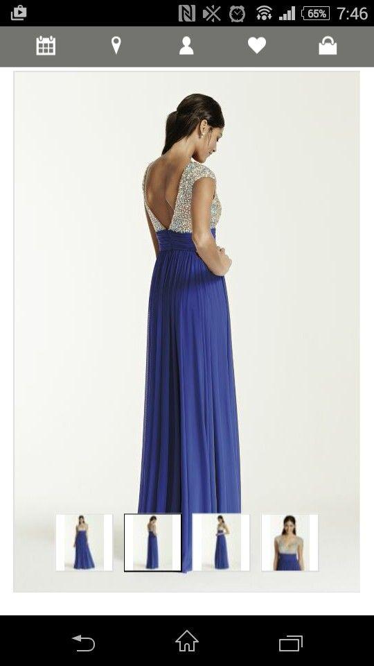 Prom dress from davids bridal