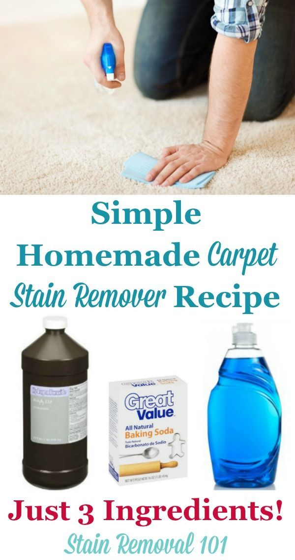 1000+ Ideas About Homemade Carpet Stain Remover On Pinterest