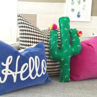 DIY Cactus Pillow | Design Inspiration | Kids Rooms ...