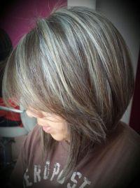 Best 20+ Gray hair highlights ideas on Pinterest