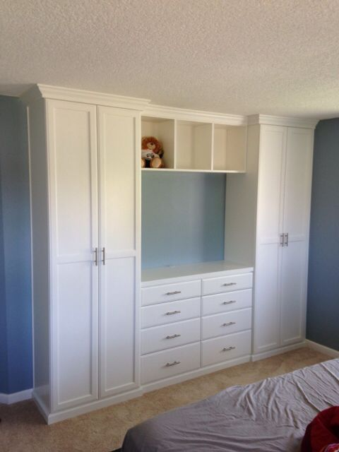 Closet And Tv Cabinet For The Bedroom Cute Store It