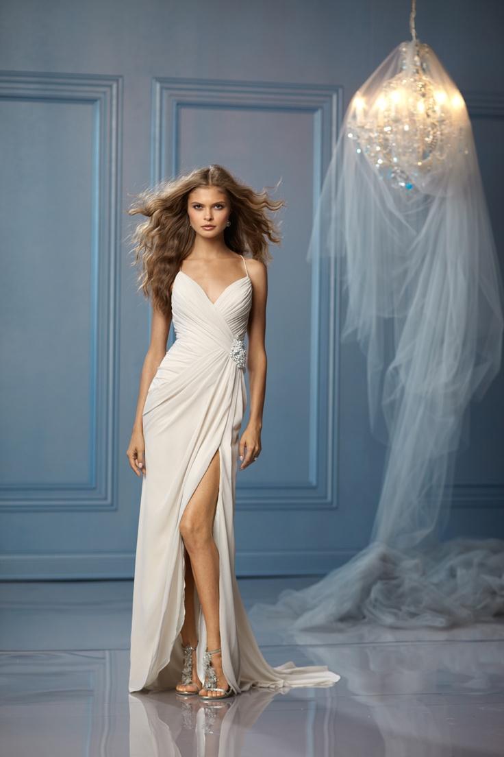 bride reception dress reception wedding dress WTOO Brides reception dress