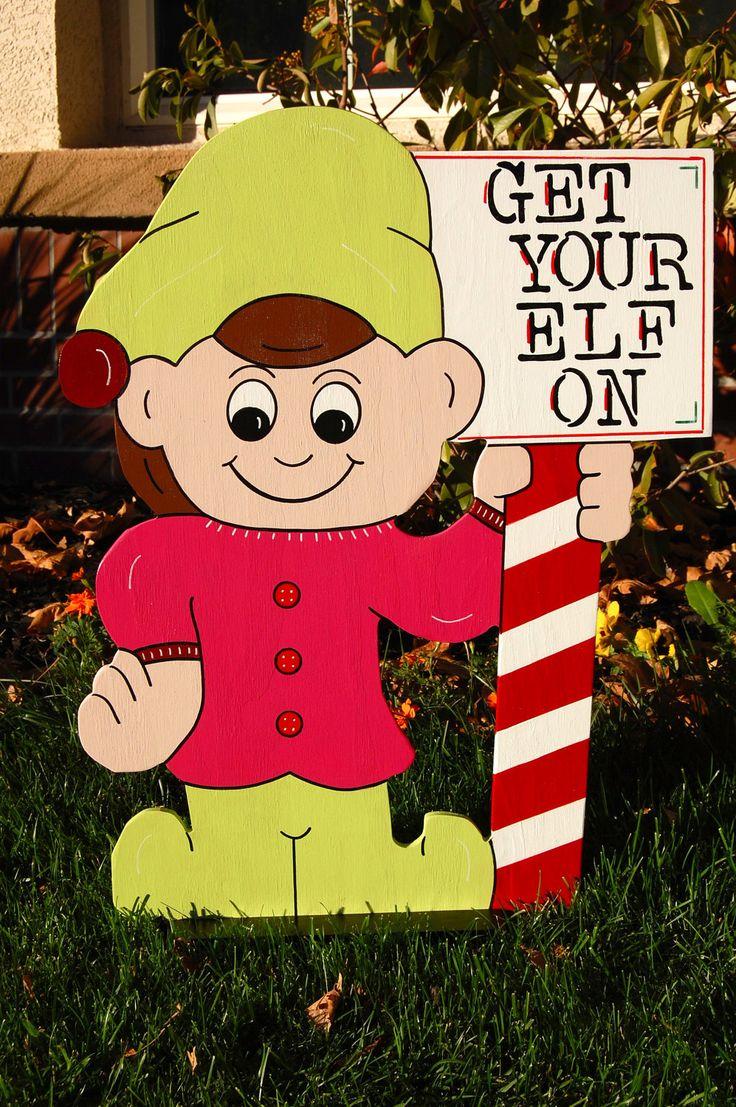 Christmas wooden yard decorations -  Yard Art Christmas Wood Download