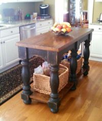 17 Best ideas about Rustic Kitchen Island on Pinterest ...