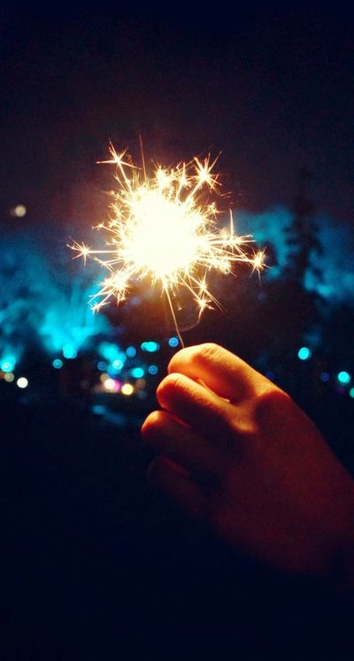 Happy New Year Fireworks Hand iPhone 6 Plus HD Wallpaper | iPhone Wallpapers | Pinterest | New ...