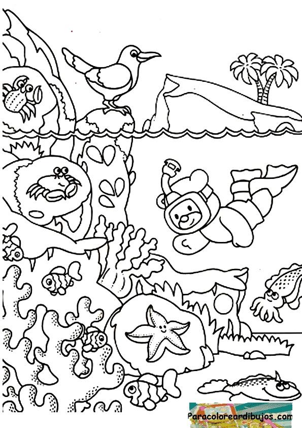 dibujos para colorear e imprimir mes del mar auto electrical
