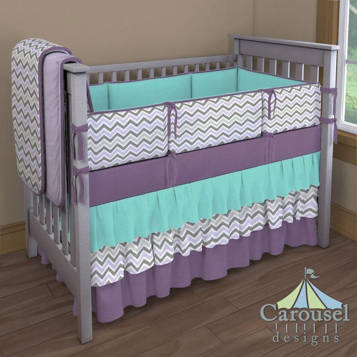 Purple And Blue Nursery Bedding Thenurseries