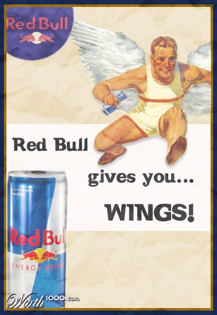 Retro Apple Wallpaper Iphone X Red Bull Gives You Wings Advertising Red Bull