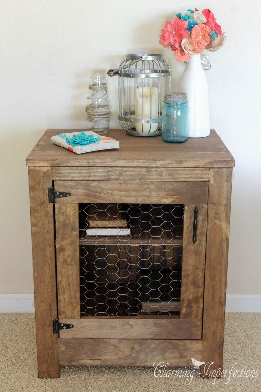 1000+ Ideas About Rustic Nightstand On Pinterest   Diy Nightstand