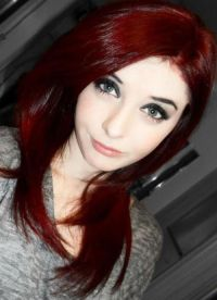 25+ best ideas about Blood Red Hair on Pinterest | Anime ...