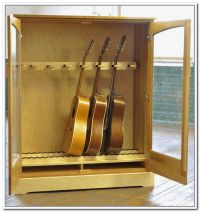 Guitar Storage Cabinet Plans - WoodWorking Projects & Plans